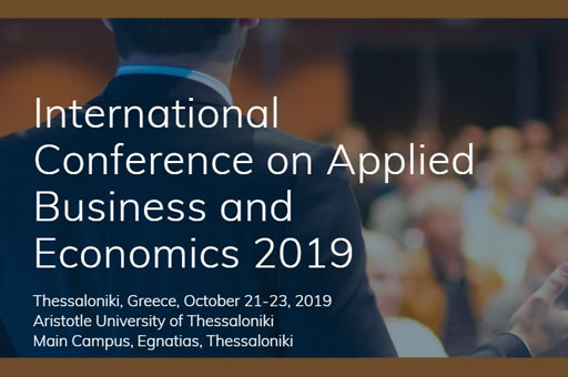International Conference on Applied Business and Economics 2019